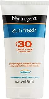 Protetor Solar Sun Fresh Fps 30, Neutrogena, Branco, 120Ml