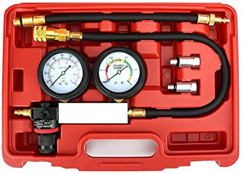 Qiilu Popular gift brand Cylinder Leak Detector - Pressure Engine Compression Gauge