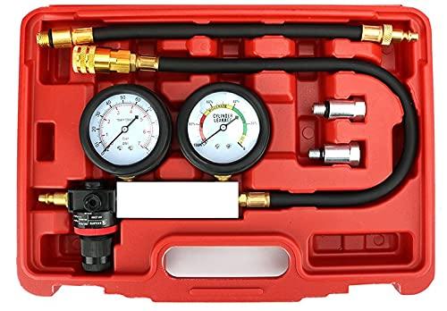 Qiilu Cylinder Leak Detector - Engine Pressure Gauge...