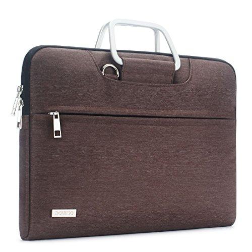 DOMISO Wasserdicht Hülle Carry Tasche Schultertasche für 13-13.3 Zoll Laptops/Apple MacBook Air und Pro / 13.3