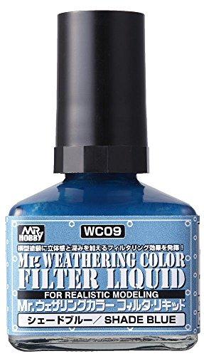 GSIクレオス Mr.ウェザリングカラー フィルタ・リキッド ブルーグレー 40ml ホビー用塗料 WC09