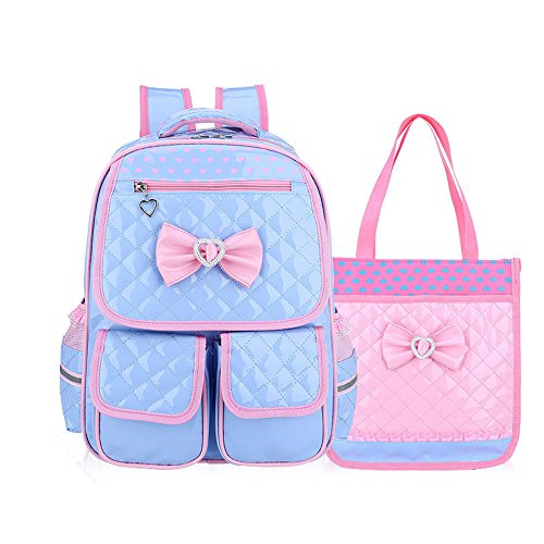 Mochila infantil de estilo princesa impermeable, transpirable, cómoda e ideal para viajar