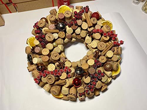 New Year's Eve Handmade Wreath Décor
