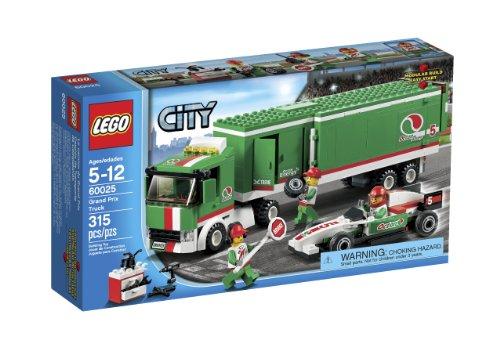 LEGO City Camion de Transport de compétition – Jeux de Construction (Multicolore, 5 Ans, 315 pièces, 12 Ans)