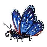 ELECTRÓNICA REY Puzzle 3D Colección Insectos, Modelo Mariposa