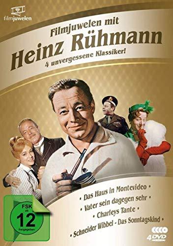 Filmjuwelen mit Heinz Rühmann: 4 unvergessene Klassiker! [4 DVDs]