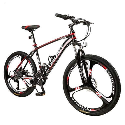 TYSYA 30-Gang Mountainbike Alles Gelände Leichter Rahmen Aus Aluminiumlegierung Citybike 26 Zoll Doppelscheibenbremse Einstellbare Vorderradgabel Harter Schwanz Integrierte Reifen