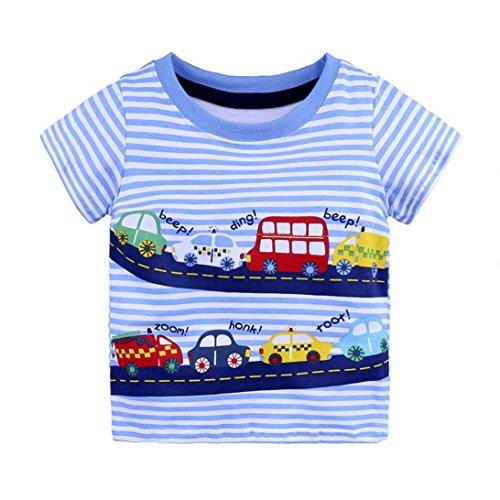 Logobeing Verano Infantil Bebé Niños Chicos Niñas Camisetas Dibujos Animados Camisetas Tops Trajes