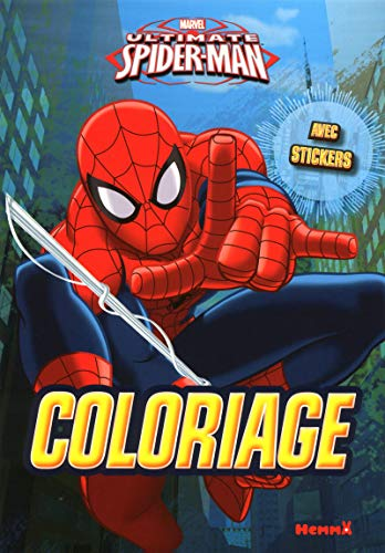 Marvel Ultimate Spider-Man - Coloriage avec stickers