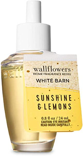 Bath Body Works Wallflowers Fragrance Refill Bulb Sunshine Lemons