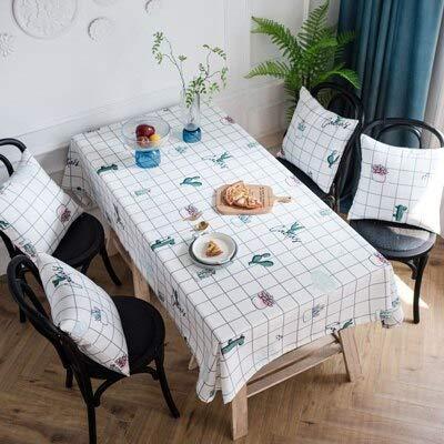 XXDD Paños de Mesa Fajas de Silla para decoración de Mesa de Boda Paño de Mesa Bordado Rectangular para Fiestas A1 150x210cm
