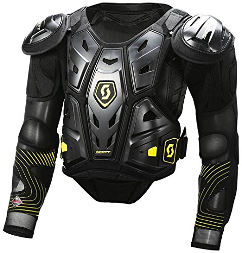 Scott Commander 2 MX Motocross DH Protektorenjacke schwarz/gelb 2019: Größe: XXL
