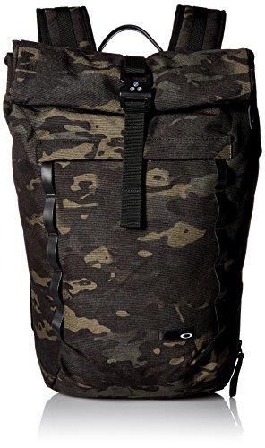 Oakley Men's Voyage 23L Roll Top Backpack, Black Multicam, One Size