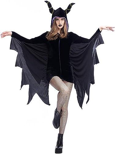 venta caliente KTYX KTYX KTYX Traje De Halloween De Murciélaño negro con Alas De Murciélaño Adulto Vestidos de Halloween (Tamaño   Metro)  directo de fábrica