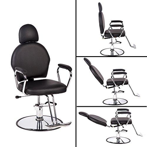 BestSalon Classic Hydraulic Barber Chair Beauty Salon Spa Chair