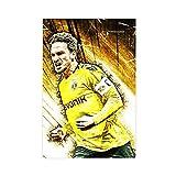 Mats Hummels Fußball-Poster, Leinwand, Poster,