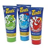 Tinti Malseife 3 Tuben rot, blau, grün