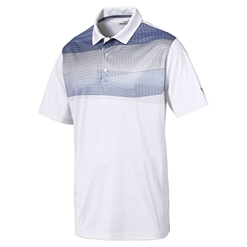 80cea497b PUMA Golf Men s 2018 PWR Cool Refraction Polo