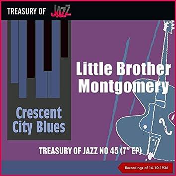 Crescent City Blues - Treasury Of Jazz No. 45 (Recordings of 16.10.1936)