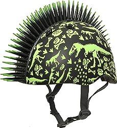 1. Raskullz Mohawk Toddler Dinosaur Helmet