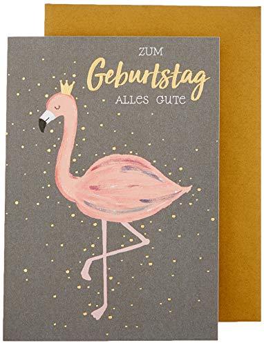 Perleberg Black&Gold - Flamingo - 11 6 x 16 6 cm 7761033-2