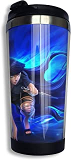 Naruto Travel Mug Tumbler With Lids Thermos Coffee Cup...
