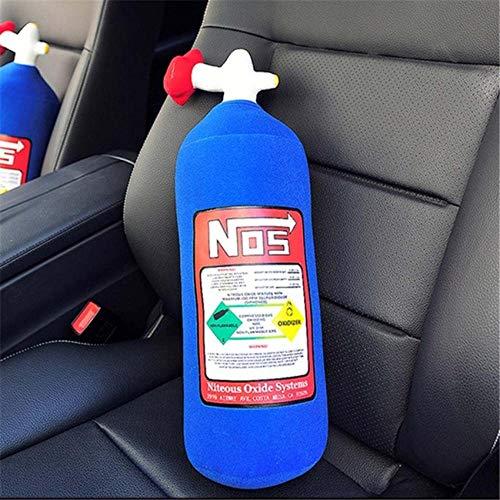 Plush Toys Nitrous óxido Botella Plush Almohada JDM Almohada cojín Peluche Juguete Grande Almohada de reposacabezas para Coche Buen Regalo Plush toysYlcxdm (Color : 45CM)