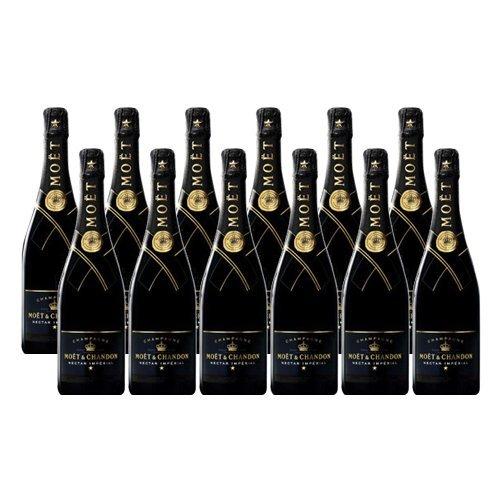 Moet & Chandon Nectar Imperial - Schaumwein- 12 Flaschen