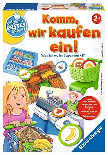 Ravensburger Kinderspiele 24721 Spielen Spielend Erstes Lernen: Komm, wir kaufen EIN