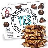 YES BAR – Dark Chocolate Chip – Plant Based Protein, Decadent...