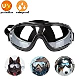 Lvozize Dog Goggles - Hunde Sonnenbrille Haustier Sonnenbrille Wasserdicht Winddicht