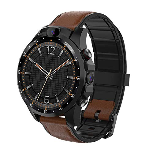 4G Smartwatch  V9 Android-Handy 1,6 Zoll AMOLed 3 GB + 32 GB 5,0 MP + 5,0 MP Kamera 800 mAh Batterie Sport Smart Watch Männer wasserdicht 1 GB 16 GB braun