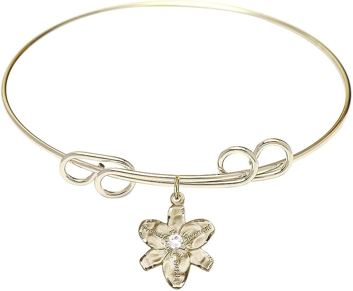 DiamondJewelryNY Double Loop Bangle Selling rankings Bracelet with Finally popular brand a Cha Chastity