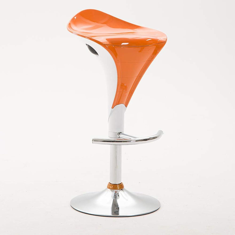 Modern Simple Barstools, Bar Chairs Lift Chair Height Adjustable Swivel Stool High Chair Bar Stool redating Bar Table Creative Bar stools-F