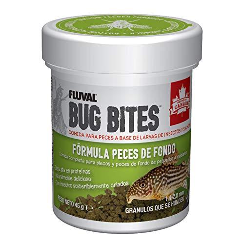 Fluval Comida Peces Comida para Peces Bug Bites Formula PLECOS Comida DE Peces