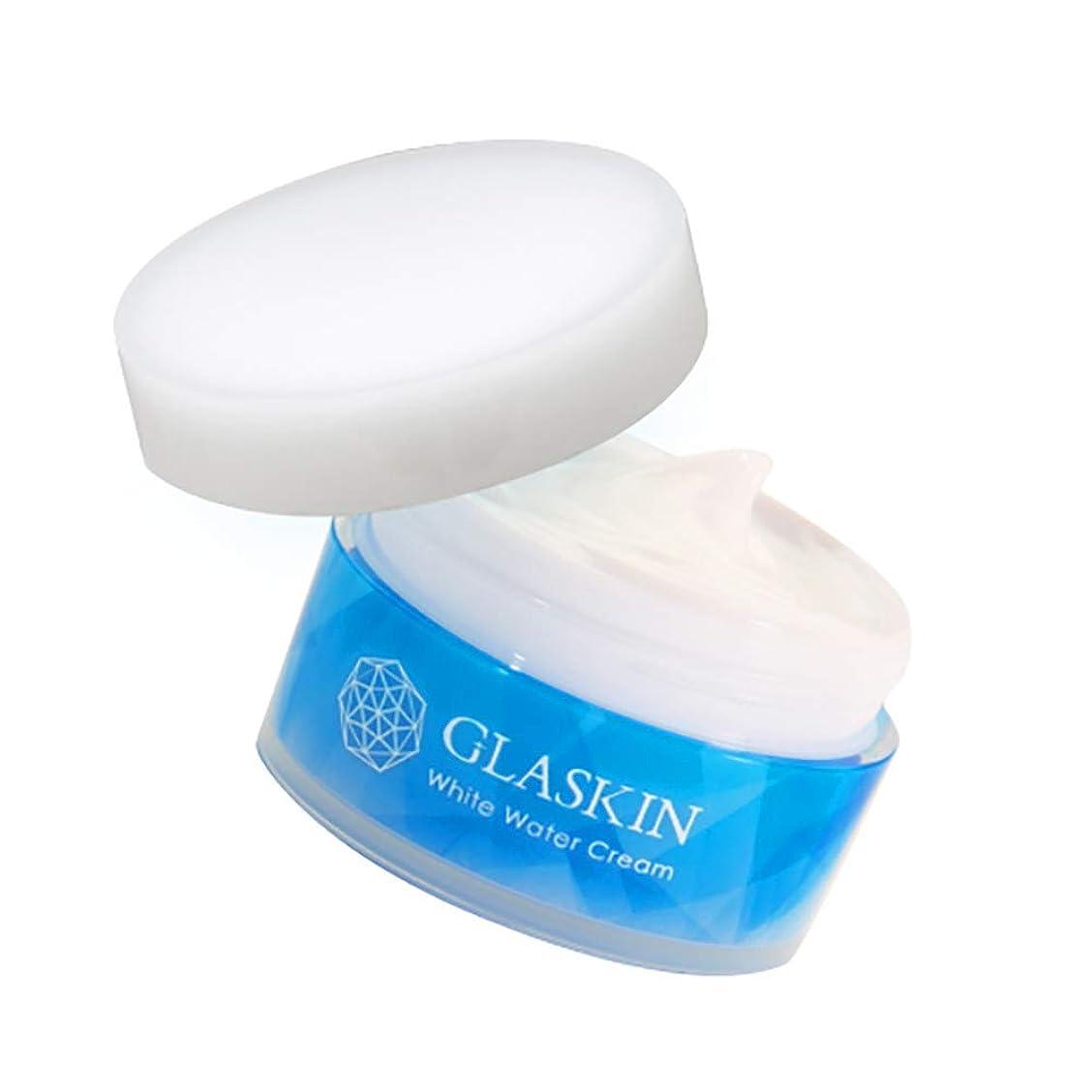 有罪トーン報復するさくらの森 GLASKIN(グラスキン)オールインワン スキンケア ウォータークリーム処方 化粧品 60g