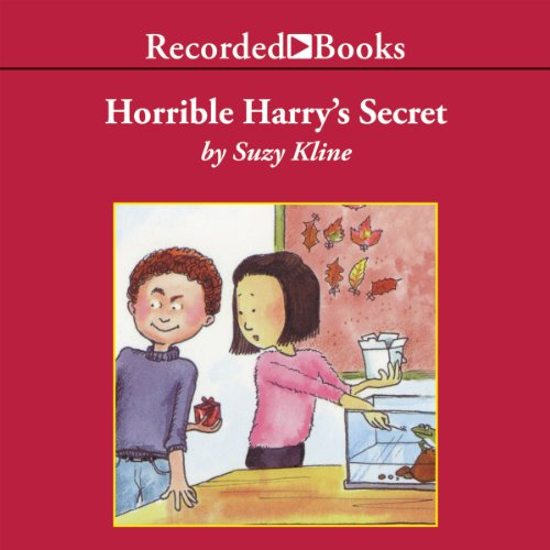 Horrible Harry's Secret audiobook cover art