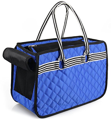 GARDOM Airline Approved Pet Carrier Pet Tote Bag Handbag Soft Breathable Lightweight for Small Dog Cat Rabbits Puppies Under 10 lbs