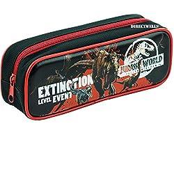 6. Jurassic World Black Pencil Case