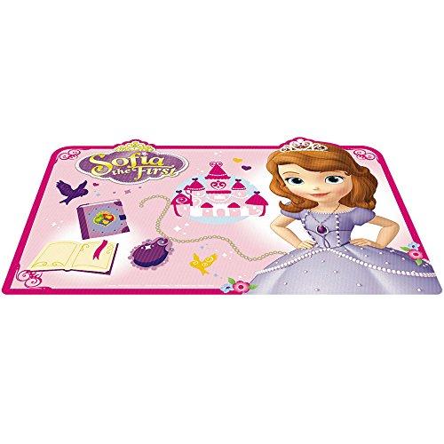 Joy Toy 749121 - Mantel Infantil, PVC, 30x25cm, diseño de la Princesa Sofia, Multicolor