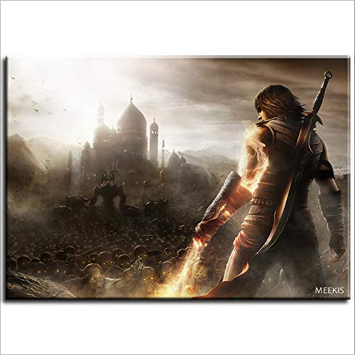 Pintura al óleo digital Prince of Persia Forgotten Sands Canvas Art House Canvas Gift 40X50 (Sin marco)