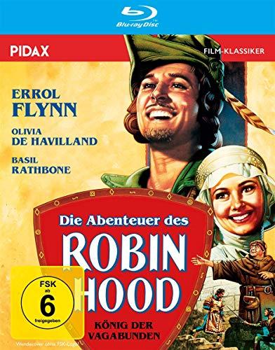 Die Abenteuer des Robin Hood - König der Vagabunden / Preisgekrönter Abenteuerfilm mit Starbesetzung (Pidax Film-Klassiker) [Bl