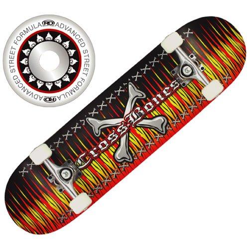 Roller Derby Flame Skateboard