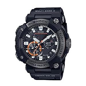 """[カシオ] 腕時計 ジーショック Bluetooth 搭載電波ソーラーFROGMAN カーボンコアガード構造 GWF-A1000XC-1AJF メンズ ブラック"""""""