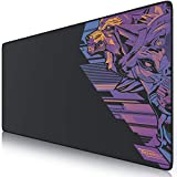 TITANWOLF - XXL Alfombrilla para ratón 900 x 400 mm - Speed Gaming Mousepad - Mouse Pad para Ordenador - Base para Mesa Grandes Dimensiones - Diseño Vector Retro