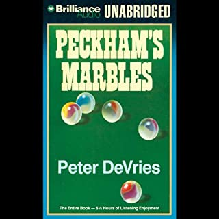 Peckham's Marbles audiobook cover art