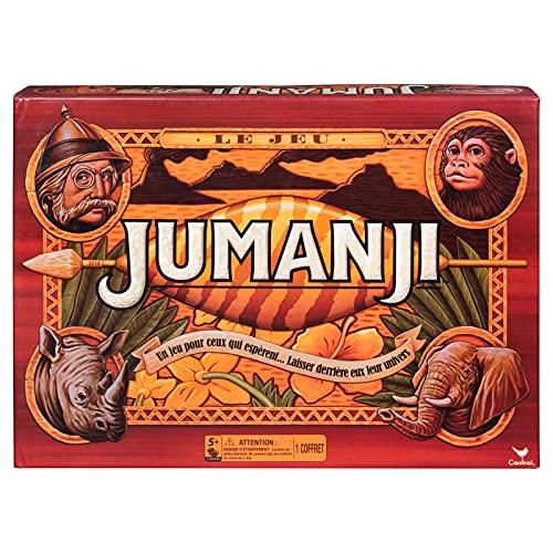 Jumanji Le JEU - Juego de Mesa para Toda la Familia - Edición Retro Spin Master Games - Versión Francesa - 6045933 - Juego de 5 años y más