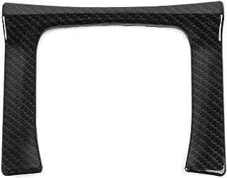 L&U ABS Kunststoff Carbon Faser Art Zahnrad Panel Trim Umschalt Kasten Dekoration Abdeckung für 2016 2019 Honda 10. Gen Civic  Manuelle Getriebe