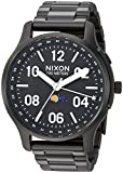 Nixon Men's Ascender Japanese-Quartz Watch with Stainless-Steel Strap, Black, 21 (Model: A12082474)