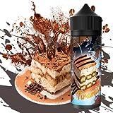 E-Liquid TIRAMISU   120ML TPD   ElecVap   Sin Nicotina: 0MG   E-Liquido vapeo para Cigarrillos Electronicos - E Liquidos para Vaper 70/30